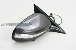 Mercedes-Benz Carbon Mirrors Set for S-Class W222 with all Features S550 S500