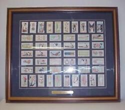 Will's First Aid Cigarette Tobacco Trade Cards Framed 1913 Complete Set 50