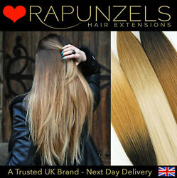 Root Fade Wefted Hair Extensions Ombre Dip Dye Hair Colours Salon Styling Remy