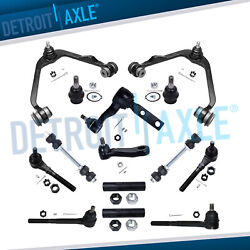 14pc Front Upper Control Sway Bar Tie Rod For Lincoln Blackwood Navigator 2wd