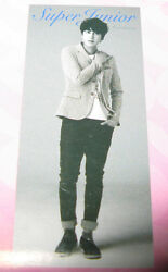 Super Junior Kyuhyun Sm Lotte Pop Up Store Life Size Scroll Banner Poster New