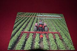 Case International Row Crop Cultivators And Rotary Hoes Dealer's Brochure Dcpa