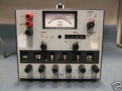 Fluke 883a Ac/dc Differential Meter