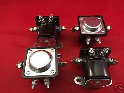 Four 4 New Winch Solenoids Solenoid Relay For Early Warn Models Xd9000i 9.5ti