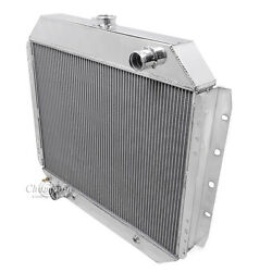 With A/c 1966 - 1974 Ford F-100 Pickup 2 Row Champion Dr Radiator V8