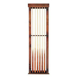 Connelly Billiards Traditional Pool Stick Wall Mount 6 Cue Rack