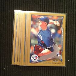 2014 TOPPS UPDATE TORONTO BLUE JAYS *GOLD BORDER # 2014* TEAM SET 8 CARDS