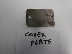 Weber 40 Dcoe Carburetor Cover Plate Pair 2 Alfa Romeo And Others