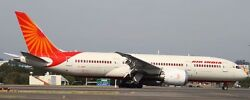 Boeing 787-8 Dreamliner Air India B787 Aircraft Wood Model Large Free Shipping