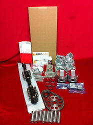 Cadillac 365 Master Engine Kit 1956 E-57 Isky Torque Cam Pistons Moly Rings