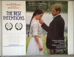 Cinema Poster Best Intentions The 1992 Quad Max Von Sydow Pernilla August