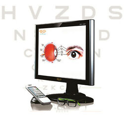 [made In Korea] 19 Inch Lcd Multi Vision Chart Eye Vision Eye Chart Vision Test
