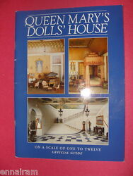 Queen Mary's Dolls House Pitkin Pictorial 2001 Uk History Official Guide