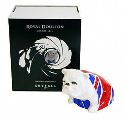 Royal Doulton Bulldog quot;JACKquot; James Bond Skyfall 007 Brand New in Original Box