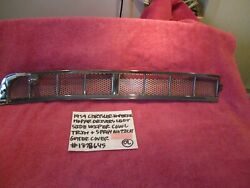 1959 Chrysler Imperial Mopar Driver Wiper Trim Nozzle Gutter Cover Free Shipping