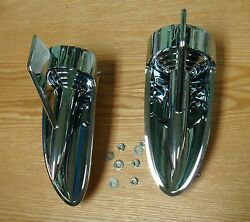 1957 Chevy Hood Scoop Rocket Ornament 6 Piece Kit New Usa Made