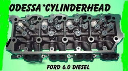 New Ford 6.0 Ohv Turbo Diesel F350 Cylinder Head 18mm O-ring Cast080 Only 03-07