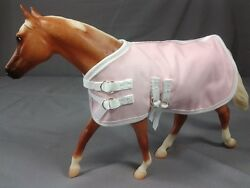6 Pack of Pastel Colored Model Horse Tack Blankets Fits Breyer