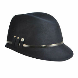 Kangol Military Colette K1517lx Made In Usa Trilby Warm Winter 100 Wool Hat Cap