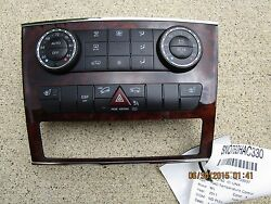 07 - 11 MERCEDES-BENZ ML350 3.5L V6 DI F1 AC HEATER CLIMATE TEMPERATURE CONTROL