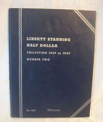 Liberty Standing Half Dollar Collection 1937-1947 Number Two Album 9027