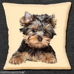 Yorkshire Terrier Dog Cushion Cover 16