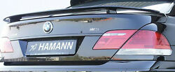 Bmw E65 E66 7 Series 2006-2008 Hamann Rear Trunk Spoiler Wing With Gap Brand New