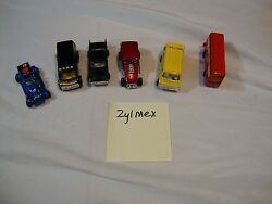 lot of 6 diecast cars vehicles zee zylmex