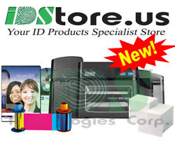 Fargo Dtc1500 Dual Side Complete Photo Id Card Printer System Replaces Dtc4250e