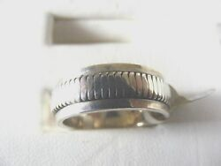 Spin Ring:  simple design 925 solid sterling silver