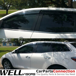 Wellvisors Window Visors 07-12 Mazda Cx-7 Side Deflectors Deflectors