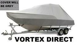 New Vortex Grey 20and039 T-top Center Console Boat Cover