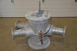Shick Tsv 6625-2 Dry Conveying Inline Diverter 6 Pipe Tube Selector Valve