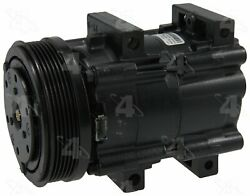Factory Air by 4 Seasons Reman Ford FS10 Compressor w/ Clutch 57146