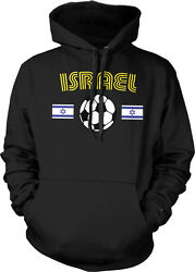 The Blue And Whites Isreali National Football Team Sports Hoodie Pullover