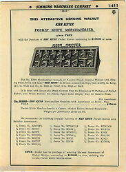 1935 Advert 20 Pg Keen Kutter Pocket Knife Knives How It's Made Display Showcase