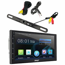 Dual Xdvd276bt In-dash Car Monitor Bluetooth Dvd Receiver And Backup Camera