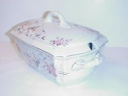 Marx And Gutherz Carlsbad Austria Covered Tureen Antique