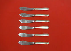Marquise By And Co. Sterling Silver Trout Knife Set 6pc. Hhws Custom