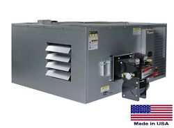 WASTE OIL HEATER Commercial Ductable - 200000 BTU - Incl Thru Roof Chimney Kit