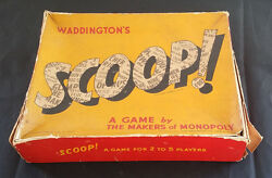scoop board game waddingtons good