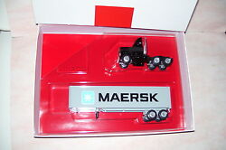 maersk winross diecast delivery trailer