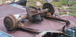 >> 1959 59 1960 60 Cadillac Complete Rear End Rearend- NO TORQUE ARMS INCLUDED<<