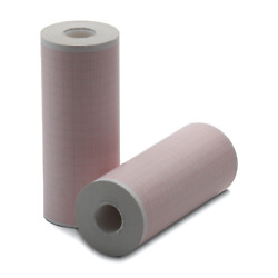 Physio-control 100mm Printer Paper - 5 Rolls - Gridded - For Lifepak 12 And 15