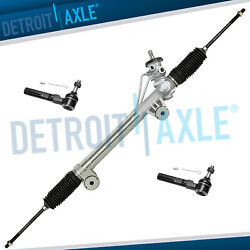 Power Steering Rack And Pinion + Outer Tie Rods For Chevy Silverado Sierra 1500