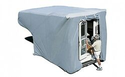 Adco 12264 Gray Sfs Aquashed Truck Camper Cover - Fits 8and039 - 10and039 Medium Queen Cam
