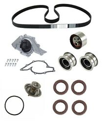 For Audi A8 Quattro 97-99 Timing Belt Kit Pump Tensioner Rollers Thermostat