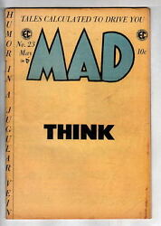 Tales Calculated To Drive You Mad 23 Ec Comics 1955 Special Cancel Announcement