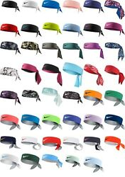 Brand NEW wTags Authentic NIKE DRI-FIT Head Tie HEADBANDS *Low Price*
