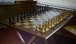 Wooden Millennium Grand Master Chess Set Free Shpg U.s.a. Only